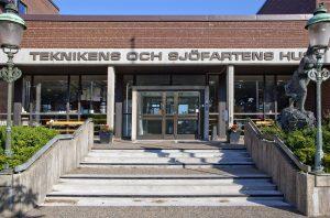 Entré, Teknikens och Sjöfartens hus. Foto: © Andreas Rasmusson / Malmö Museer