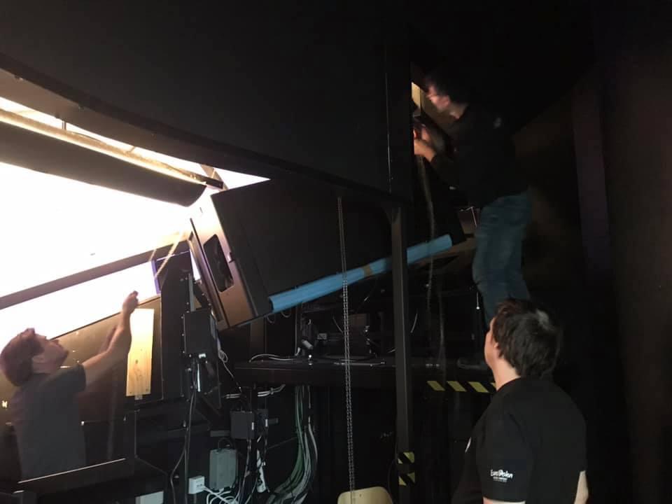 Installation av projektorer